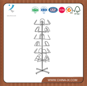 Modern Steel Powder Coated Cap Stand/Rack/Clothes Tree